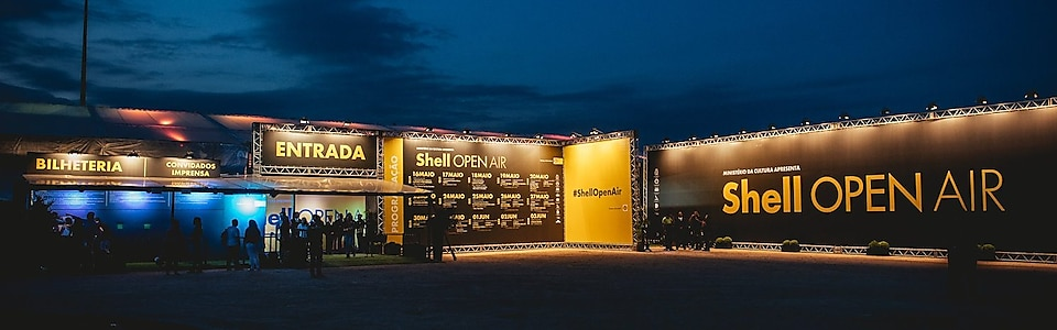 Fique por dentro do Shell Open Air
